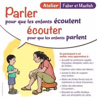 Atelier - Parler pour que les enfants écoutent