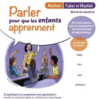 Atelier - Parler pour que les enfants apprennent